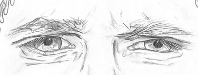Pics For > Sad Eye Drawing