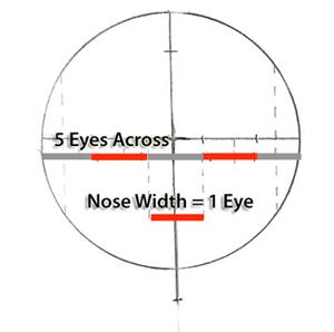 eyespacingsimple drawing faces