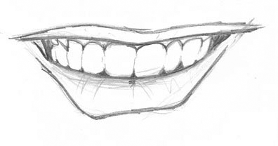 How To Draw Mouths Smiling | www.pixshark.com - Images ...