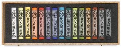 rembrandt pastel soft art tools color