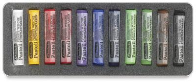 schminke pastels color media drawing chalk art tools